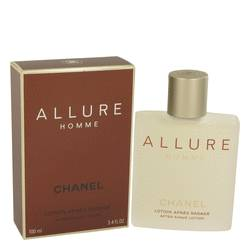 Allure After Shave by Chanel, 3.4 oz After Shave Lotion for Men