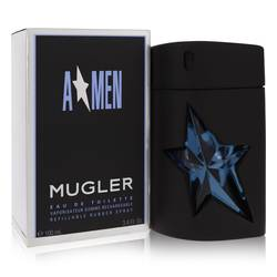 Angel by Thierry Mugler – Eau De Toilette Spray Refillable (Rubber) 3.4 oz (100 ml) for Men