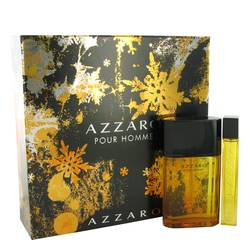 Azzaro Gift Set by Azzaro Gift Set for Men Includes 3.4 oz EDT Spray + 0.5 oz Mini EDT Spray
