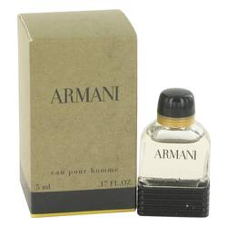 Armani Mini by Giorgio Armani, .17 oz Mini EDT for Men