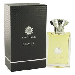Amouage Silver by Amouage – Eau De Parfum Spray 3.4 oz (100 ml) for Men