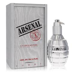 Arsenal Platinum by Gilles Cantuel – Eau De Parfum Spray 3.4 oz (100 ml) for Men