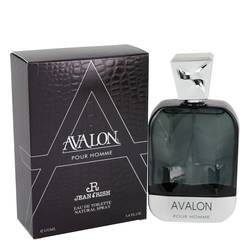 Avalon Pour Homme by Jean Rish – Eau De Toilette Spray 3.4 oz (100 ml) for Men