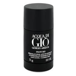 Acqua Di Gio Profumo Deodorant by Giorgio Armani, 77 ml Deodorant Stick for Men