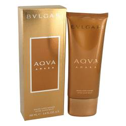 Bvlgari Aqua Amara After Shave Balm by Bvlgari, 3.4 oz After Shave Balm for Men