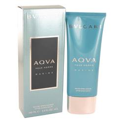 Bvlgari Aqua Marine After Shave Balm by Bvlgari, 3.4 oz After Shave Balm for Men