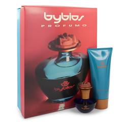 Byblos Gift Set by Byblos Gift Set for Women Includes 1.68 oz Eau De Parfum Spray + 6.75 Body Lotion