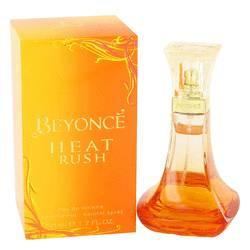 Beyonce Heat Rush Perfume by Beyonce, 50 ml Eau De Toilette Spray for Women