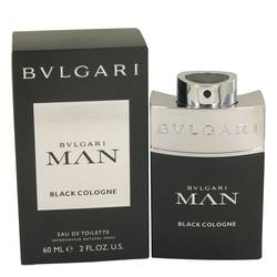 Bvlgari Man Black Cologne Cologne by Bvlgari, 2 oz EDT Spray for Men