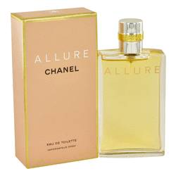 Allure Perfume by Chanel, 1.7 oz EDT Spray for Women