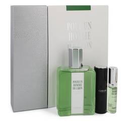 Caron Pour Homme Gift Set by Caron Gift Set for Men Includes 6.7 oz Eau De Toilette Spray + 0.5 oz Mini EDT Spray + 0.5 oz Refillable Spray