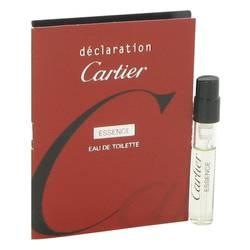 Declaration Essence Sample by Cartier, .05 oz Vial (sample) for Men