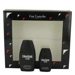 Drakkar Noir Gift Set by Guy Laroche Gift Set for Men Includes 1 oz Eau De Toilette Spray + .5 oz Mini EDT