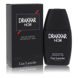 Drakkar Noir Cologne by Guy Laroche, 1 oz Eau De Toilette Spray for Men