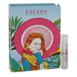 Escada Born In Paradise Sample by Escada, .06 oz Vial (sample) for Women