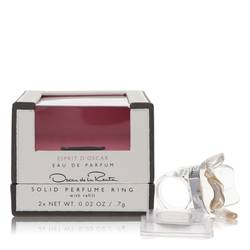 Esprit D'oscar Solid Perfume by Oscar De La Renta, .02 oz Solid Perfume Ring with Refill for Women