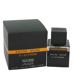 Encre Noire A L'extreme Cologne by Lalique, 1.7 oz Eau De Parfum Spray for Men