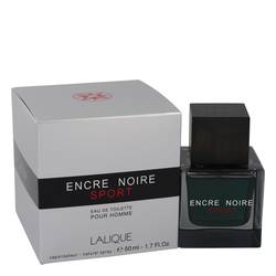 Encre Noire Sport Cologne by Lalique, 1.7 oz Eau De Toilette Spray for Men
