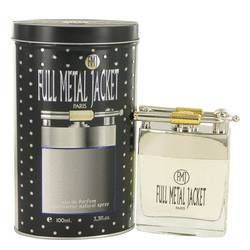 Full Metal Jacket Cologne by Parisis Parfums, 3.4 oz Eau De Parfum Spray for Men