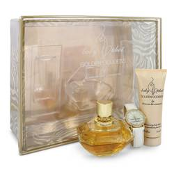 Golden Goddess Gift Set by Kimora Lee Simmons Gift Set for Women Includes 3.4 oz Eau De Parfum Spray + 2.5 oz Body Lotion + Watch
