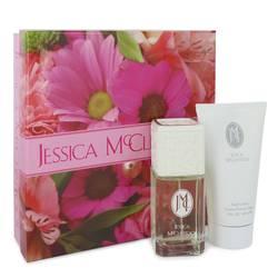 Jessica Mc Clintock Gift Set by Jessica McClintock Gift Set for Women Includes 3.4 oz Eau De Parfum Spray + 5 oz Body Lotion