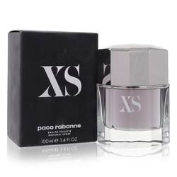 Xs Cologne by Paco Rabanne, 3.4 oz EDT Spray for Men