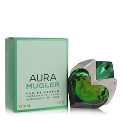 Mugler Aura Perfume by Thierry Mugler, 30 ml Eau De Parfum Spray Refillable for Women