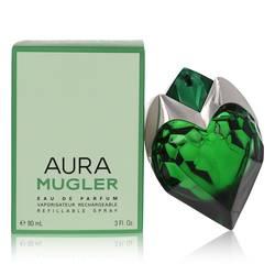 Mugler Aura Perfume by Thierry Mugler, 90 ml Eau De Parfum Spray Refillable for Women