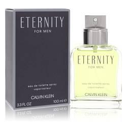 Eternity Cologne by Calvin Klein, 3.4 oz EDT Spray for Men