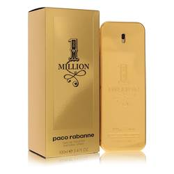 1 Million by Paco Rabanne – Eau De Toilette Spray 3.4 oz (100 ml) for Men