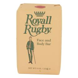 Royall Rugby Soap by Royall Fragrances, 240 ml Face and Body Bar Soap for Men