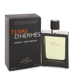 Terre D'hermes Pure Perfume by Hermes, 30 ml Pure Pefume Spray for Men