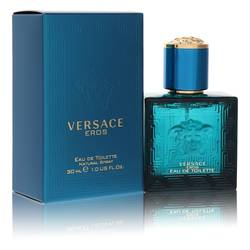 Versace Eros Cologne by Versace, 1 oz EDT Spray for Men