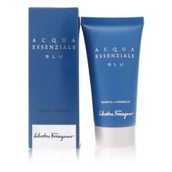 Acqua Essenziale Blu Cologne by Salvatore Ferragamo 1.7 oz Shower Gel