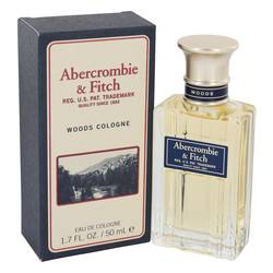 Abercrombie Woods Cologne by Abercrombie & Fitch 1.7 oz Eau De Cologne Spray