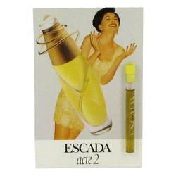 Acte 2 Perfume by Escada 0.04 oz Vial (sample)