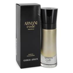 Armani Code Absolu Cologne by Giorgio Armani 2 oz Eau De Parfum Spray