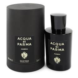 Acqua Di Parma Ambra Perfume by Acqua Di Parma 3.4 oz Eau De Parfum Spray