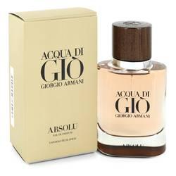 Acqua Di Gio Absolu Cologne by Giorgio Armani 1.35 oz Eau De Parfum Spray