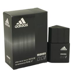 Adidas Moves 001 Cologne by Adidas 0.5 oz Eau De Toilette Spray