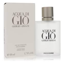 Acqua Di Gio Cologne by Giorgio Armani 1.7 oz Eau De Toilette Spray