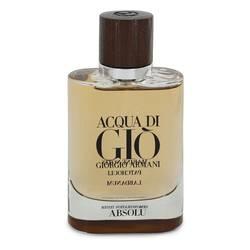 Acqua Di Gio Absolu Cologne by Giorgio Armani 2.5 oz Eau De Parfum Spray (Tester)