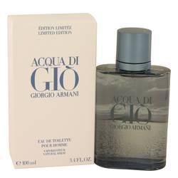 Acqua Di Gio Blue Edition Cologne by Giorgio Armani 3.4 oz Eau De Toilette Spray (Limited Edition Unboxed)