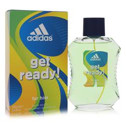 Adidas Get Ready Cologne by Adidas, 3.4 oz Eau De Toilette Spray for Men