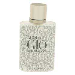 Acqua Di Gio Cologne by Giorgio Armani 3.4 oz Eau De Toilette Spray (Limited Edition Bottle Tester)