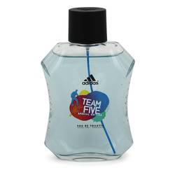 Adidas Team Five Cologne by Adidas 3.4 oz Eau De Toilette Spray (unboxed)