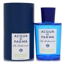 Blu Mediterraneo Bergamotto Di Calabria Perfume by Acqua Di Parma 5 oz Eau De Toilette Spray