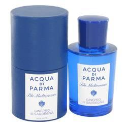 Blu Mediterraneo Ginepro Di Sardegna Perfume by Acqua Di Parma 2.5 oz Eau De Toilette Spray (unisex)