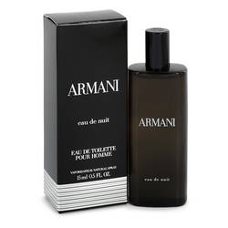 Armani Eau De Nuit Cologne by Giorgio Armani 0.5 oz Mini EDT Spray