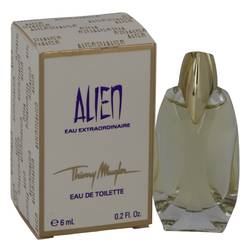 Alien Eau Extraordinaire Perfume by Thierry Mugler 0.2 oz Mini EDT